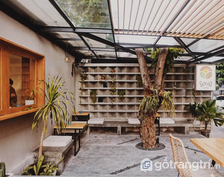 Thiết kế quán cà phê đẹp