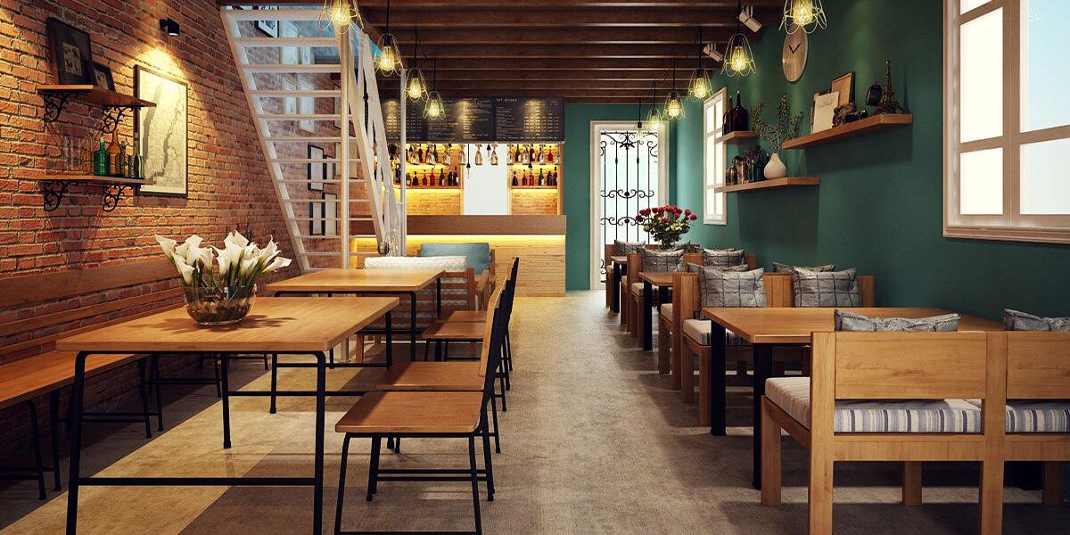 Thiết kế quán cà phê đảm bảo khách đến chẳng muốn về