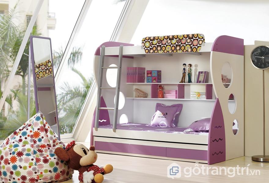 Ứng dụng ván dăm phủ Melamine trong thiết kế giường ngủ - ảnh internet