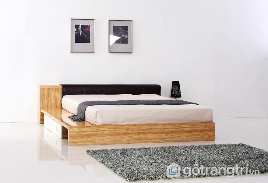 Bề mặtMelamine với phong cách nội thất truyền thống - ảnh internet