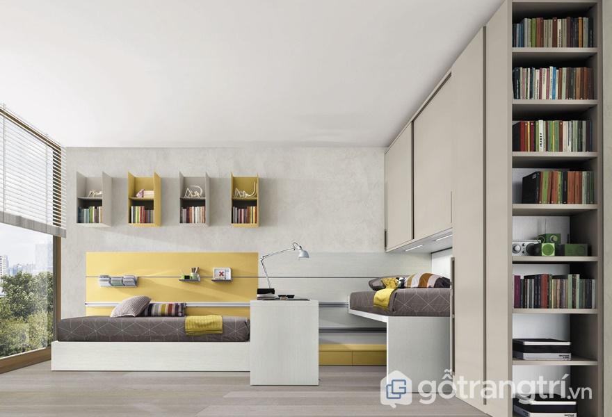 Bề mặt giấy trang trí Melamine cho không gian phòng bếp - ảnh internet
