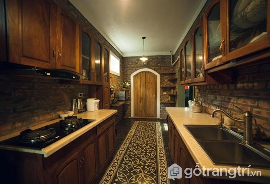 Gian bếp tại Zen Villa Homestay - ảnh internet