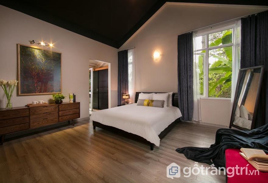 Phòng ngủ tại Ánh Dương Homestay - ảnh internet