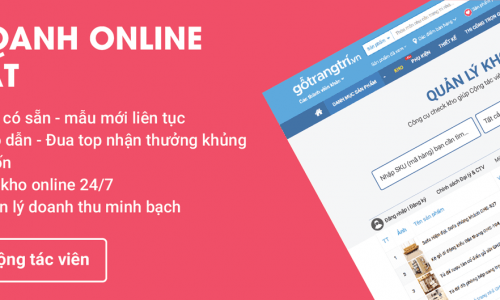 Kiếm tiền Online với Dropshipping của gotrangtri.vn - Điều Bạn Cần Biết