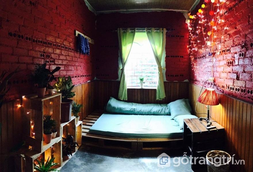 Phòng ở tại Bơ House homestay Mộc Châu (ảnh internet)