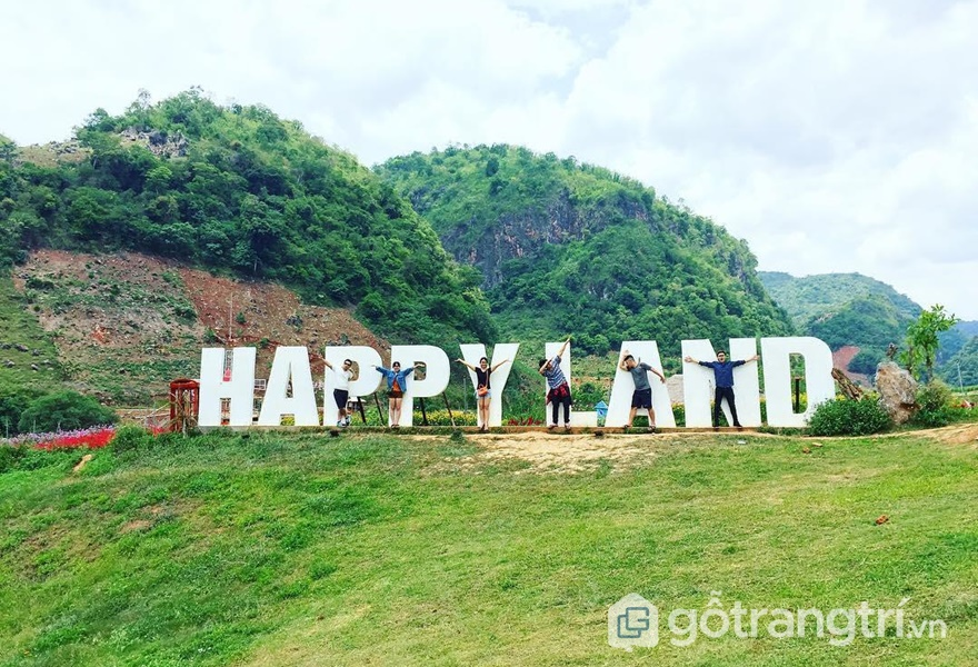 Mộc Châu Happy Land homestay (ảnh internet)