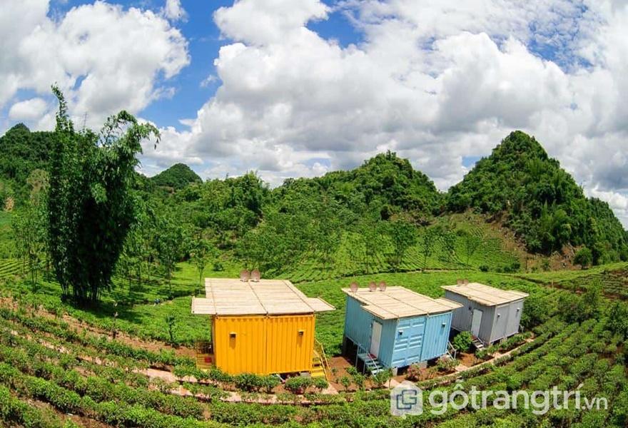 Mộc Châu Arena Village (ảnh internet)