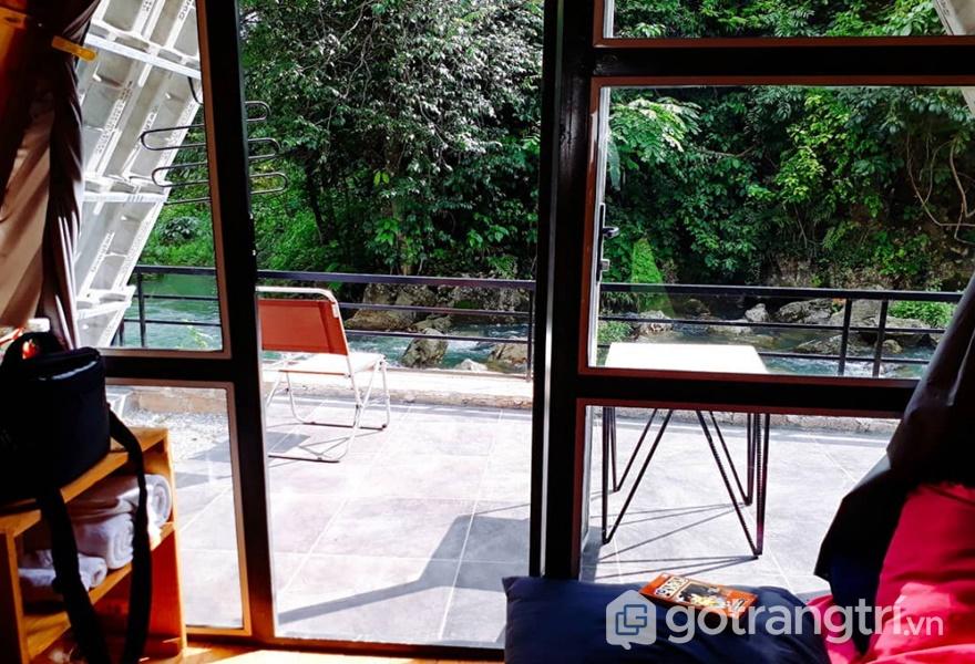 View từ phòng ngủ homestay (ảnh internet)