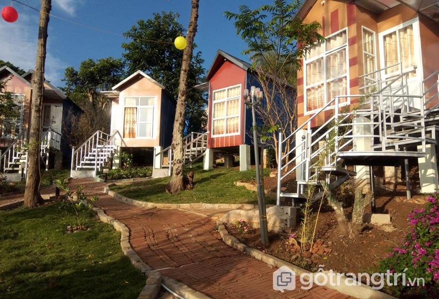 Dịch vụ homestay ở Mộc Châu mang nhiều phong cách khác nhau (ảnh internet)