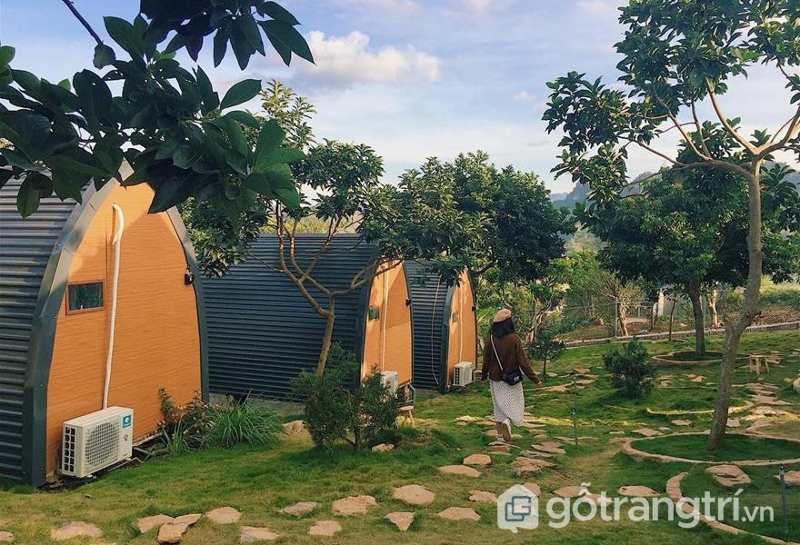 Dịch vụ homestay ở Mộc Châu (ảnh internet)