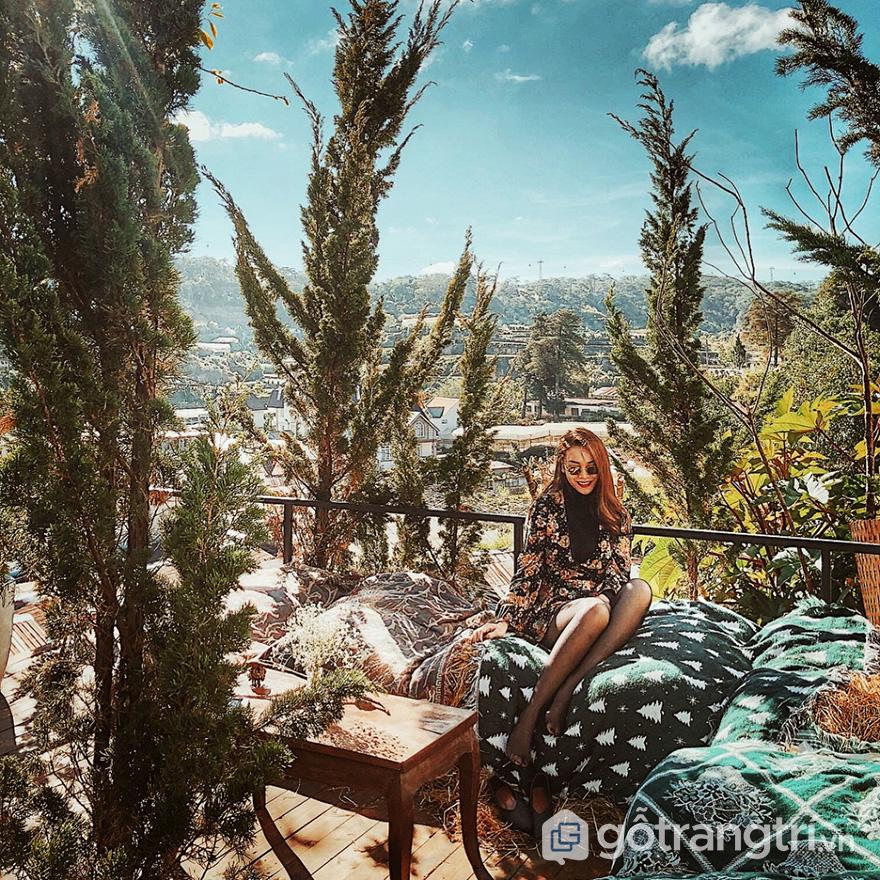 homestay Đà Lạt view núi