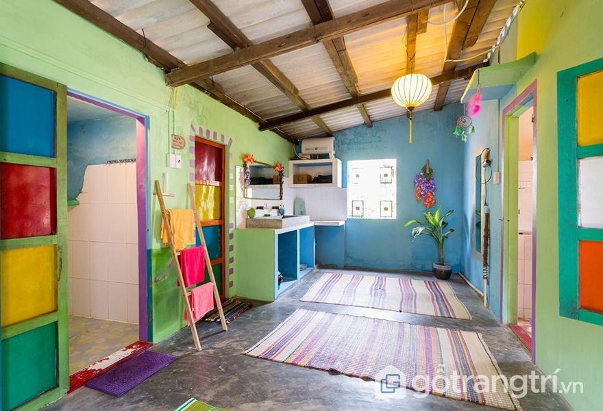 Phòng ở đơn giản, đầy đủ tiện nghi (ảnh internet)