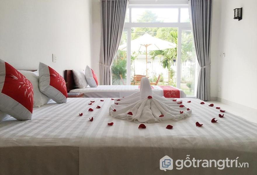 Phòng ở tại Oleander Garden Homestay (ảnh internet)
