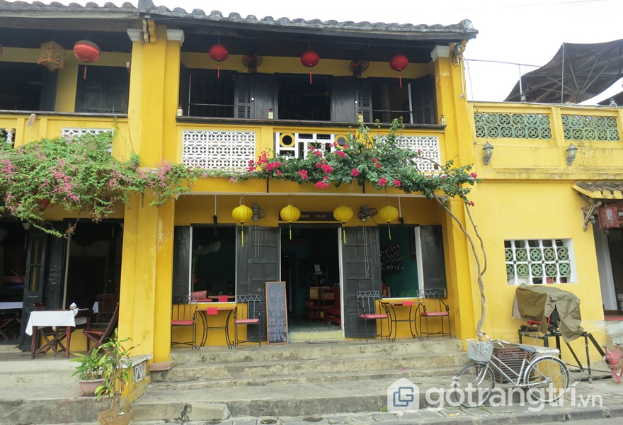 Homestay Hội An view đẹp Old Yellow House (ảnh internet)