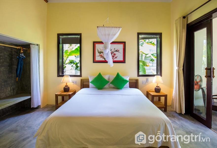 Phòng ở tại Red Flower Cottage Homestay (ảnh internet)