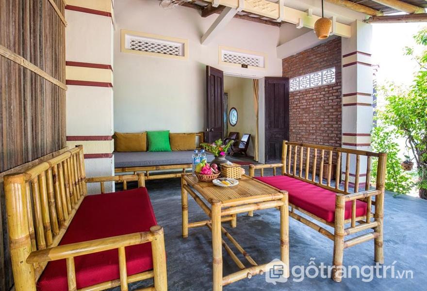 Không gian tại Red Flower Cottage Homestay (ảnh internet)