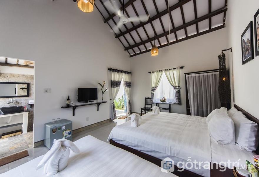 Phòng ở tại Cashew Tree Bungalow Homestay (ảnh internet)