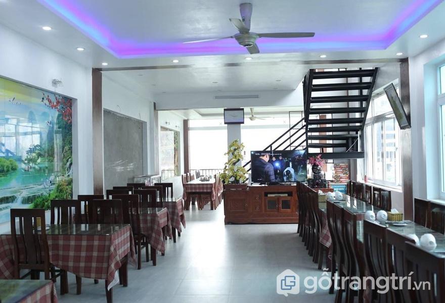Không gian ăn uống tại Cà Rem Homestay - ảnh internet