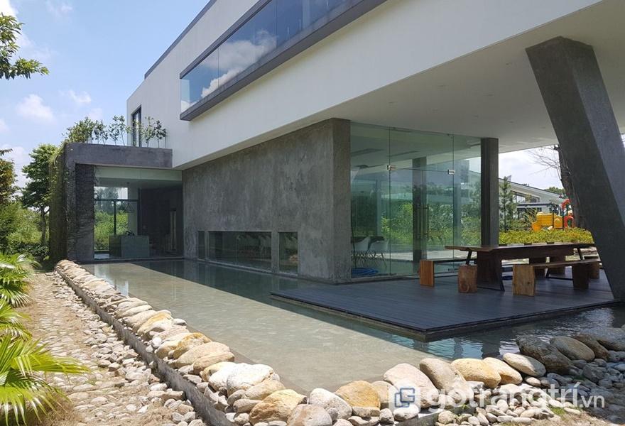 Kiến trúc độc đáo tại N House (ảnh internet)
