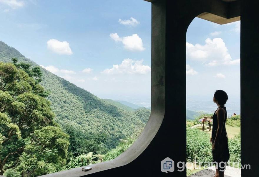 Ngắm toàn cảnh Tam Đảo từ homestay (ảnh internet)