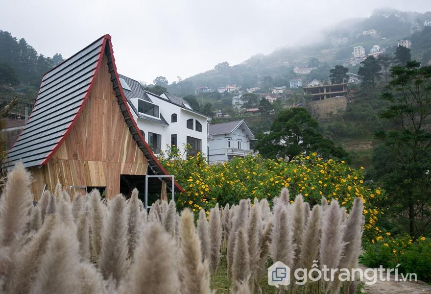 Kiến trúc độc đáo tại Le Vent (ảnh internet)