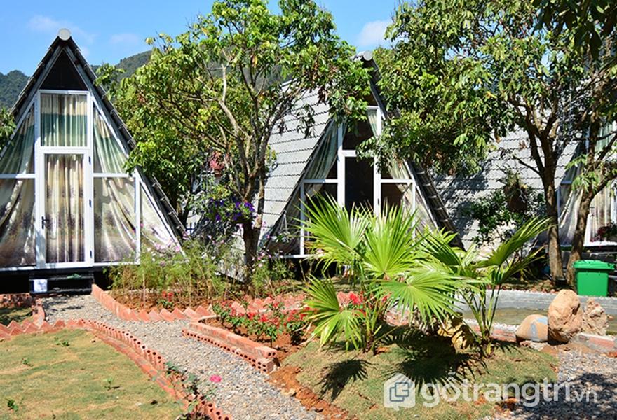 Làng homestay Mộc Châu (ảnh internet)