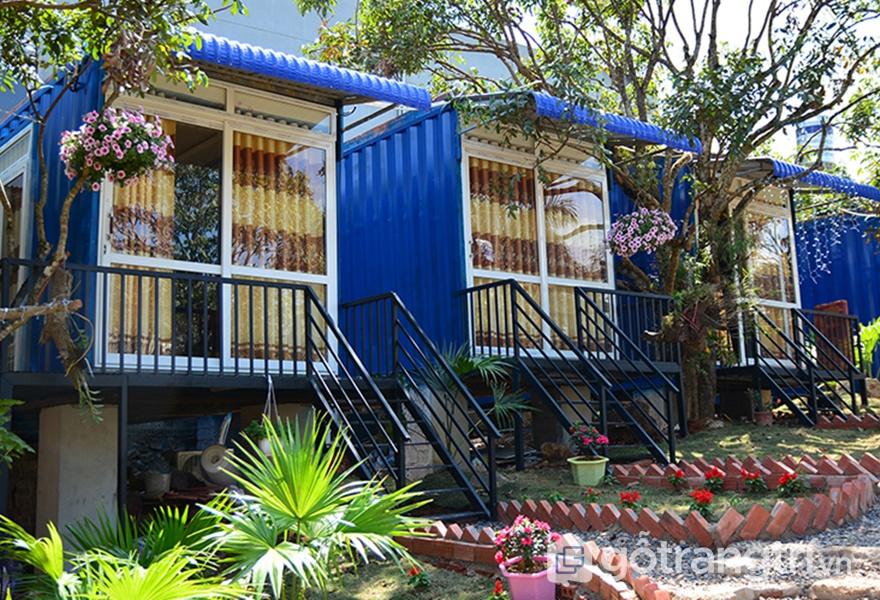 Không gian tạiLàng homestay Mộc Châu (ảnh internet)