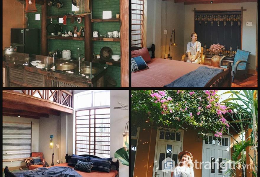 Những không gian sinh hoạt tại Le Bleu Homestay Hội An (ảnh internet)