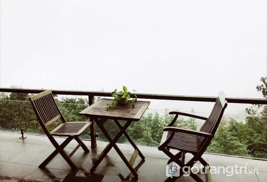 Không gian nghỉ dưỡng tại Le Bleu Homestay - Tam Đảo (ảnh internet)