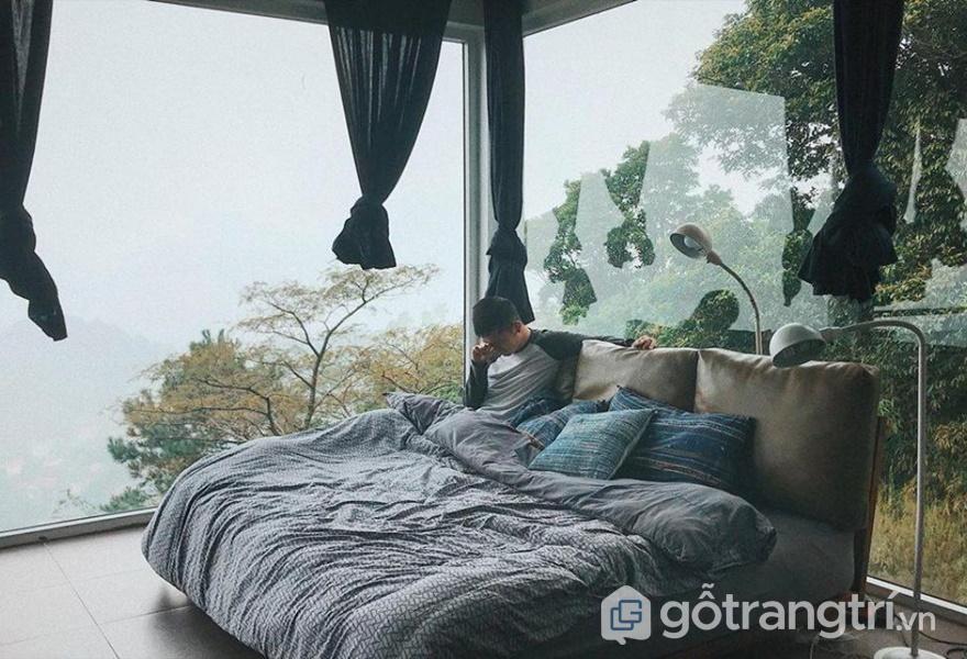 Vẻ đẹp ngất ngây tại phòng ngủ của homestay - ảnh internet