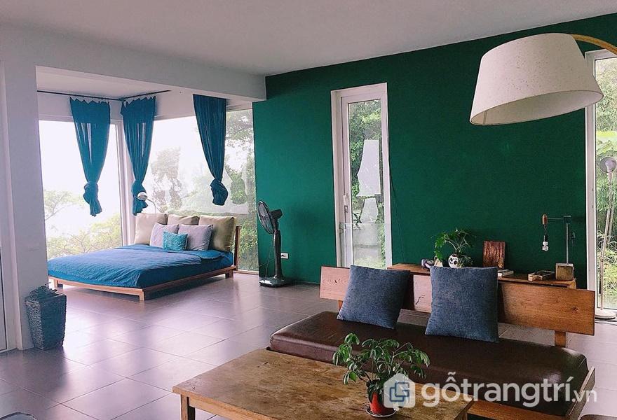 Thiết kế nội thất đơn giản (ảnh internet)