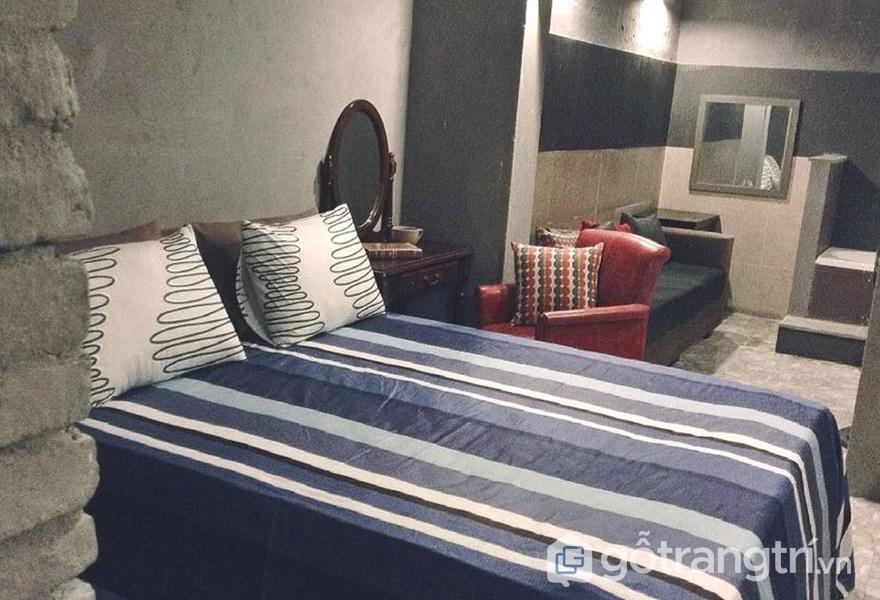 Phòng ngủ tại homestay (ảnh internet)
