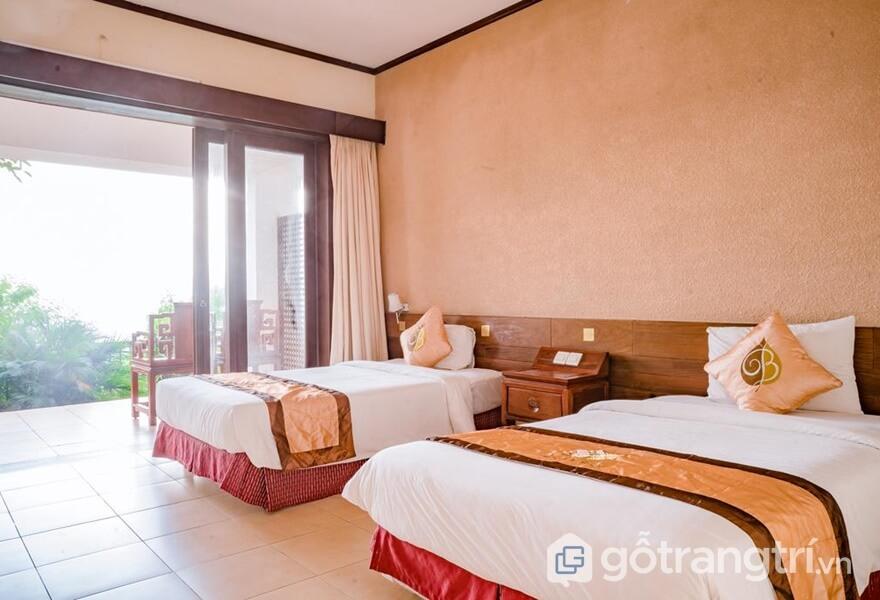 Phòng ngủ tại Tam Đảo Belvedere Resort - ảnh internet