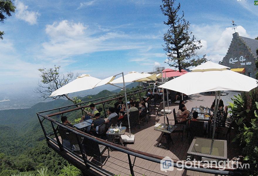 View từ Quán gió, gần Tam Đảo Hill Homestay - ảnh internet