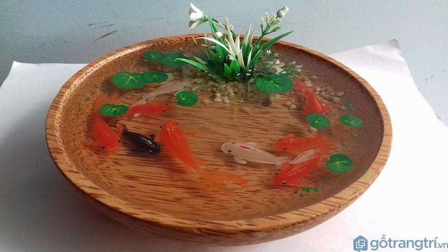 Đĩa 3D bằng dừa - Ảnh: Internet