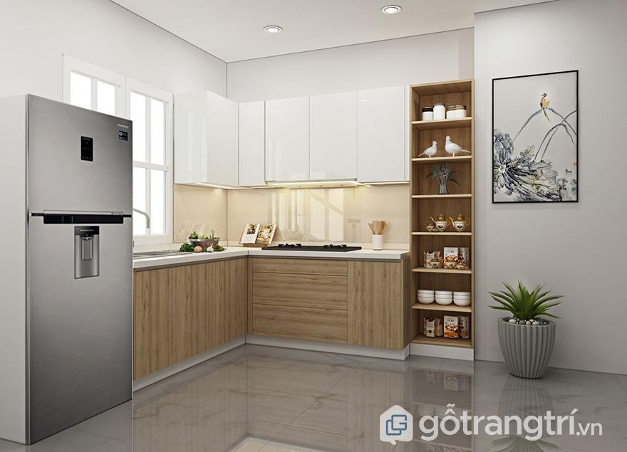 các mẫu trang trí nhà bếp