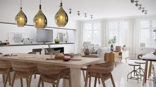 Tại sao đèn trang trí phòng bếp thu hút sự chú ý của nhiều người?