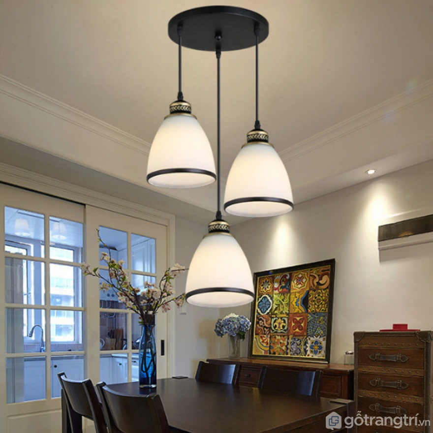 Đèn thả trần cho nhà bếp mẫu 04 - Ảnh: Internet