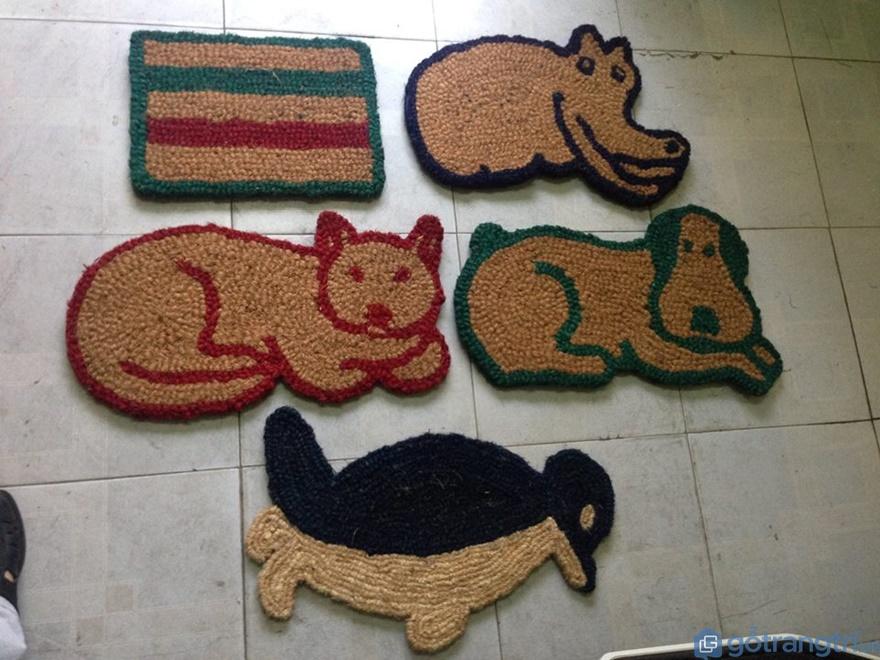 Thảm bằng xơ dừa - Ảnh: Internet