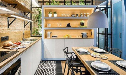 Kệ để đồ nhà bếp - Giải pháp thông minh để lưu trữ đồ đạc khoa học