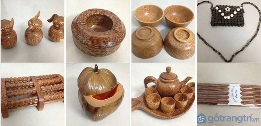 Tìm hiểu mỹ nghệ dừa Bến Tre và các sản phẩm thủ công mỹ nghệ từ dừa - Ảnh: Internet