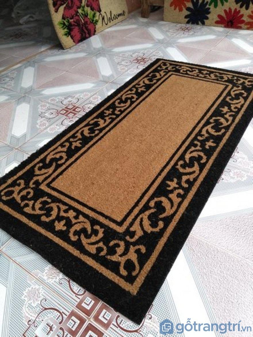 Thảm trải sàn làm từ xơ dừa - Ảnh: Internet