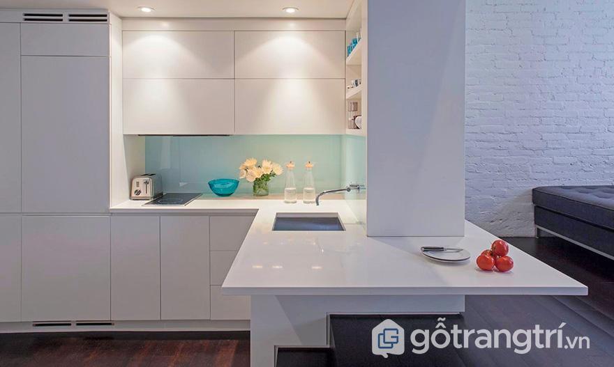 Thiết kế phòng bếp diện tích nhỏ