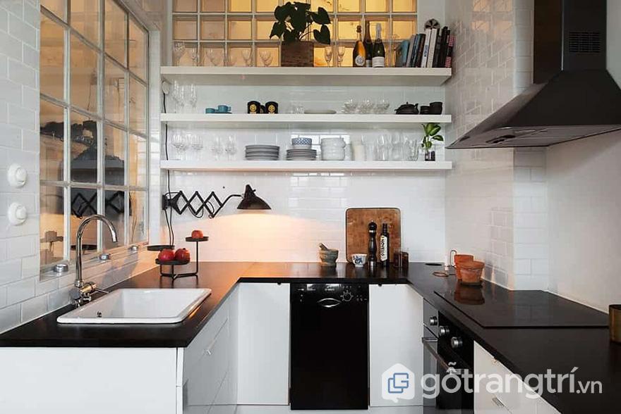 trang trí nhà bếp nhỏ