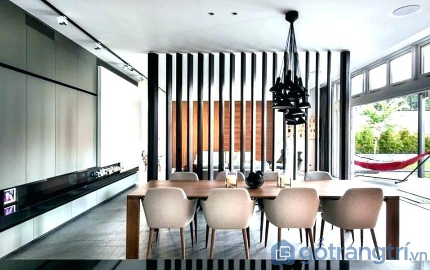 Bật mí 5 cách lựa chọn vách ngăn gỗ phòng khách và bếp cực kỳ chất lượng - Ảnh: Internet