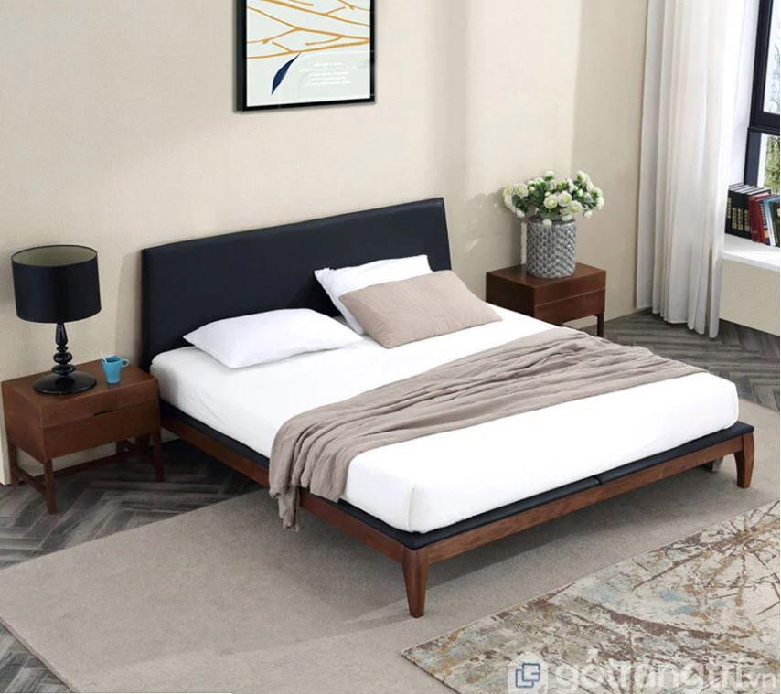 giường gỗ tự nhiên