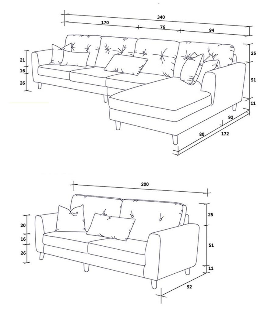 Thông tin chi tiết về ghế sofa phòng khách tiện dụng đa năng GHS-8324