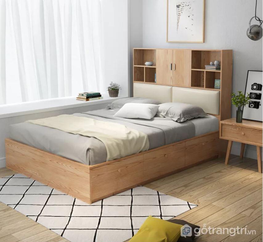 giường gỗ hiện đại