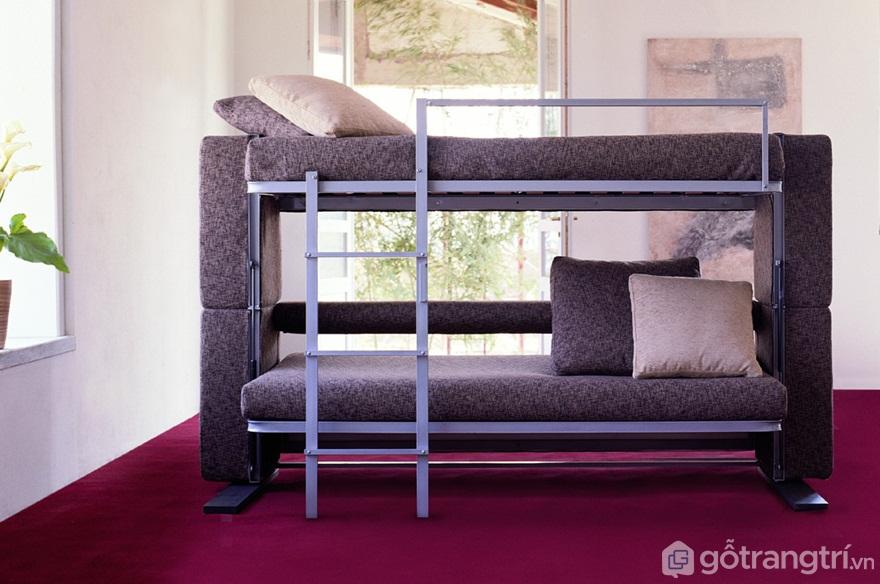 Mẫu giường 2 tầng đơn - Ảnh: Internet