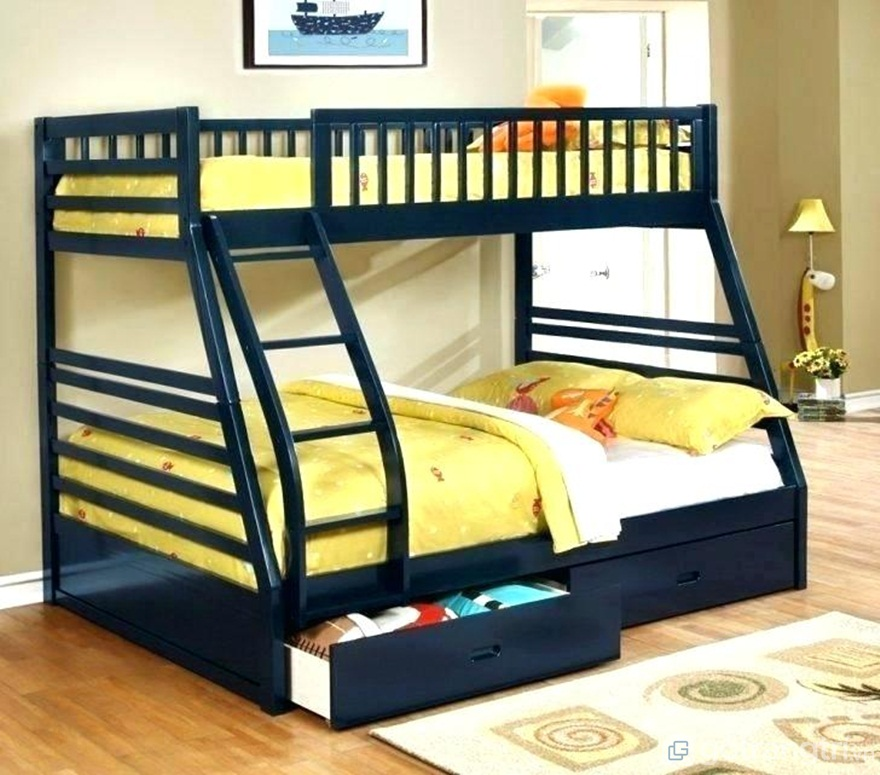 Giường ngủ tích hợp ngăn kéo - Ảnh: Internet